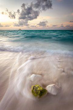 Malediven Sonnenuntergang van Markus Busch
