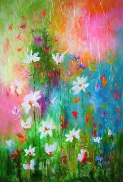 Bloemen van het veld van Angel Estevez