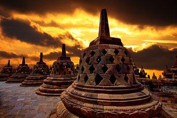 Borobudur von Henk Langerak