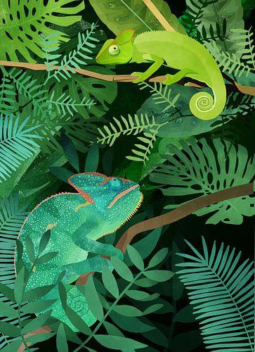 Kameleons van Goed Blauw