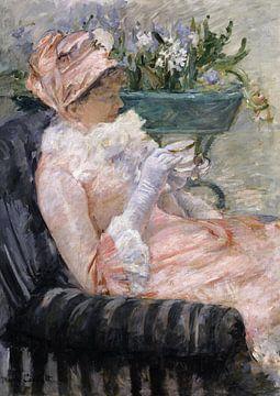 Die Tasse Tee , Mary Cassatt - 1880