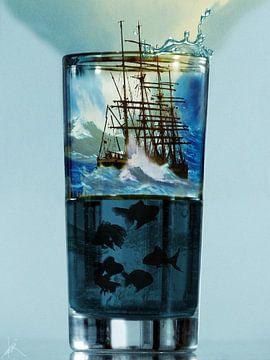 Tempête dans un verre d'eau sur Harald Fischer