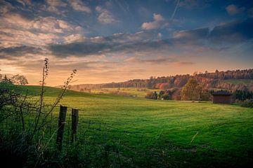 Landscape Ardennes Belgium sur Kim Bellen