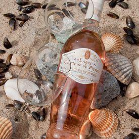 Rosé aan het strand: Proost! van Klaartje Majoor