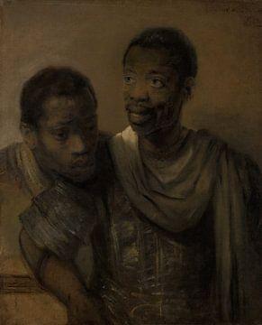 Zwei Moore - Rembrandt van Rijn