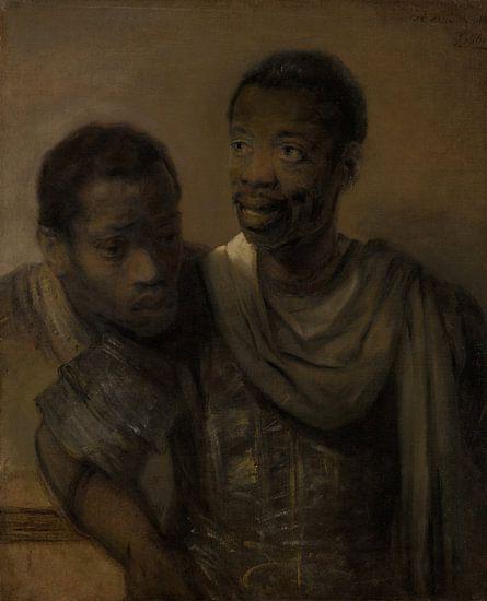 Twee moren, Rembrandt