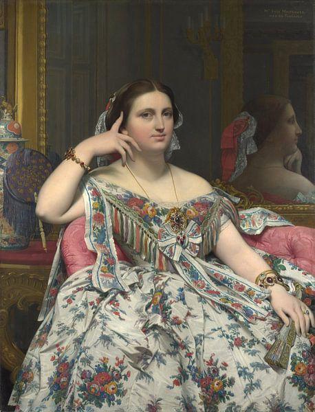 Madame Moitessier, Jean-Auguste-Dominique Ingres von Meesterlijcke Meesters