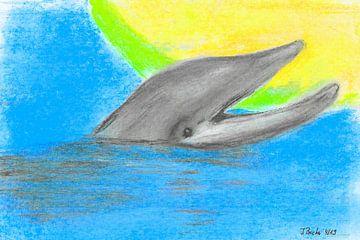 Happy Dolphin sur Johann Bucher