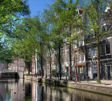 Gracht in Amsterdam van