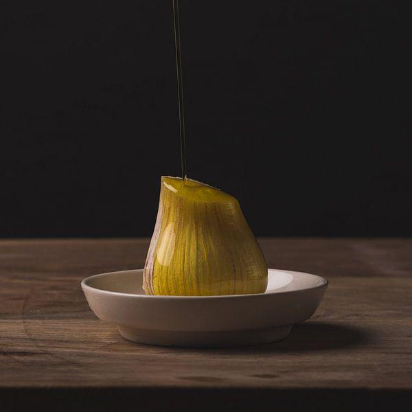 Stilleven - Garlic and Oil no. 3