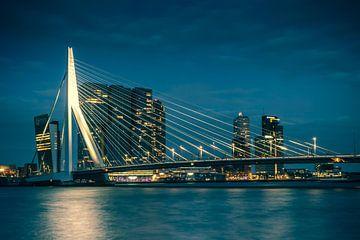 Erasmus-Brücke Rotterdam von Jos van de Pas