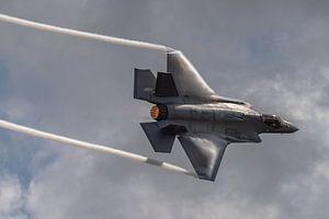 Indrukwekkend! Een high speed pass van de Lockheed Martin-F-35 Lightning II tijdens de Wings over Ho
