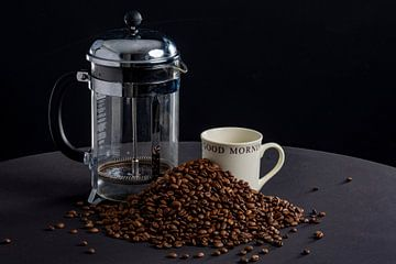Goede morgen met koffie