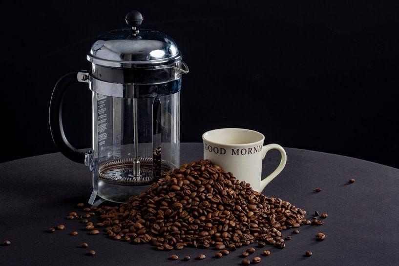Goede morgen met koffie van Ton de Koning
