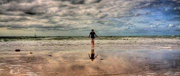 HDR Foto aan zee van Erwin Zwaan