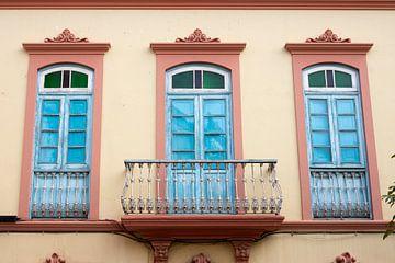 Balkondeuren in kleuren von Jolanda van Eek