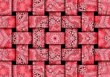 Weben in Rosa von Caroline Lichthart