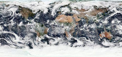 Kaart van de Wereld van