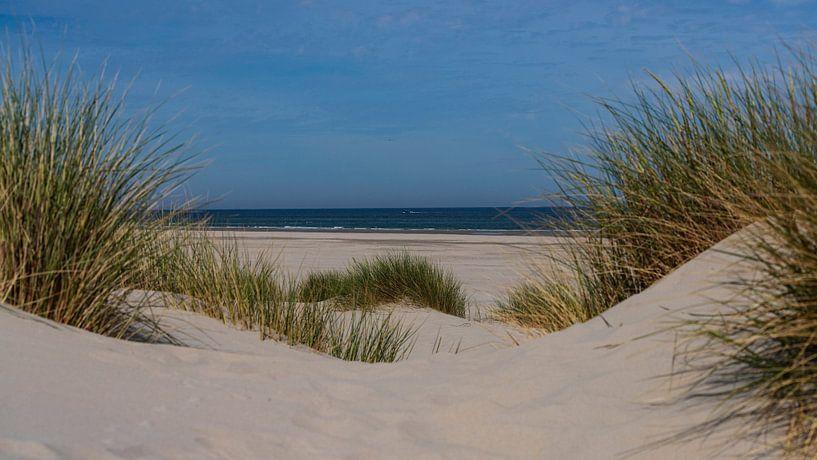 Doorkijkje naar de Noordzee van Willemke de Bruin