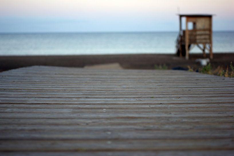 beachwalk van Jeroen van Deel