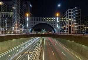 Haagse Poort in de nacht van Patrick Löbler