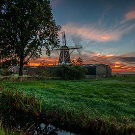 Westbroek in de ochtendzon van Robin Pics
