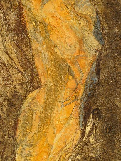 Naakt in de plooi van Helma van der Zwan
