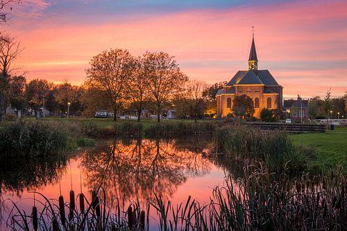 De kerk en de hemel van