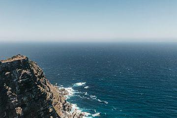 Südafrikanischer Blick auf den Atlantischen Ozean von Floor Bogaerts