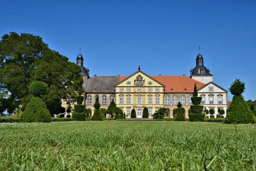 Het kasteel Hundisburg bij Haldensleben van Heiko Kueverling