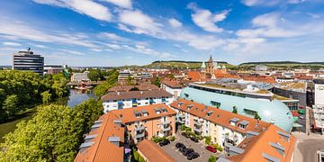 Stadtansicht Heilbronn am Neckar von Werner Dieterich