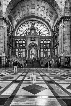 Ontvangsthal Antwerpen van Jochem van der Blom