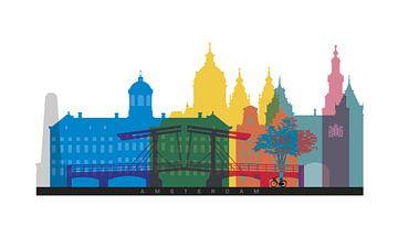 Amsterdam in a nutshell von Harry Hadders