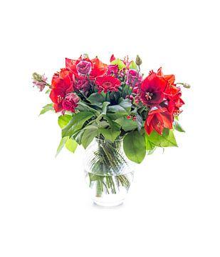 Bloemen in een vaas van Michael Roubos