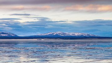 Bevroren meer in Zweden van Hamperium Photography