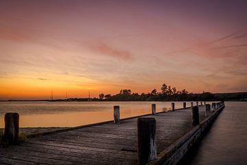 Sunset in Holland.. sur Bas Holtrop