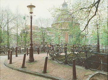 Schilderij: Ronde Lutherse Kerk, Amsterdam von