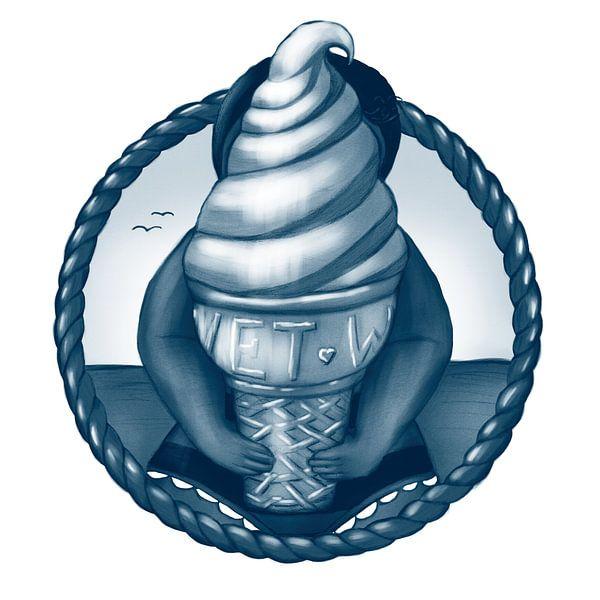 Vet ijs van Bianca van Duijn