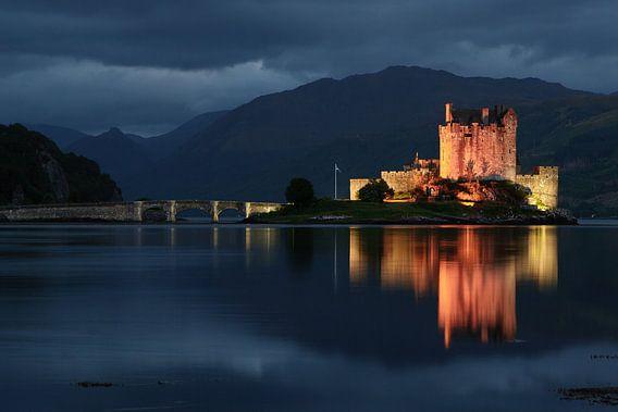 kasteel, Eilean Donan Castle Schotland