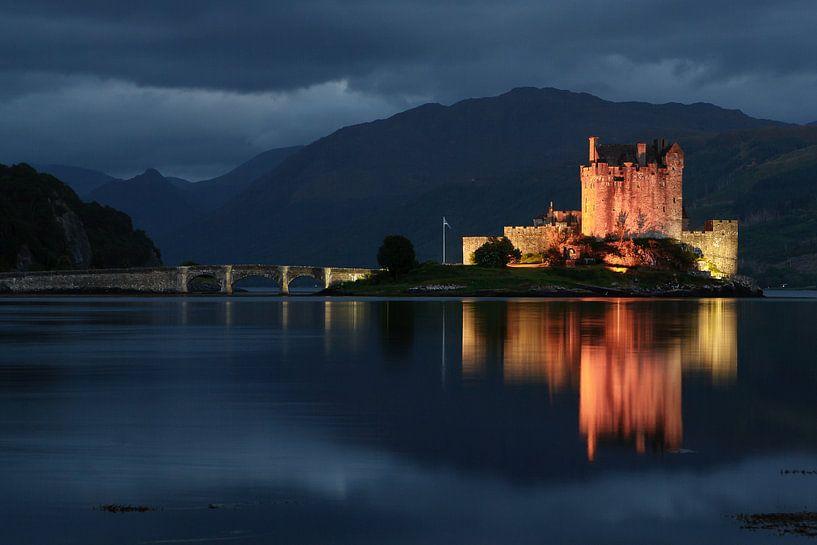 kasteel, Eilean Donan Castle Schotland van Desiree Tibosch
