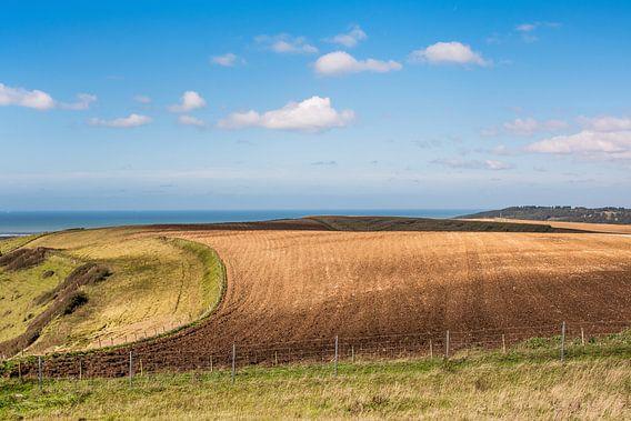 Landschap in het noorden van Frankrijk, Pas de Calais