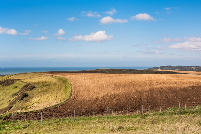 Landschap in het noorden van Frankrijk, Pas de Calais van Harrie Muis