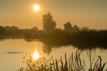 Gouden uur in Nederland van Mark Bolijn