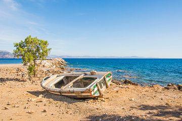 Landschap op Chios, Griekenland van Bianca Kramer