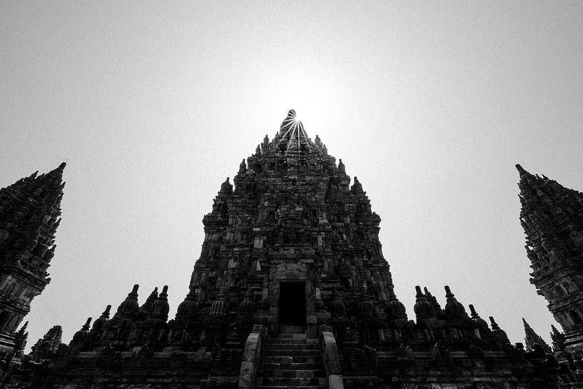 Prambanan tempels, Jogjakarta (Midden-Java, Indonesië) van Martijn Smeets