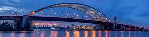 Brienenoordbrug en Skyline Rotterdam