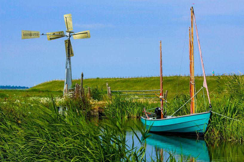 Hollands tafereel aan de schellinkhouterdijk van Nathalie Pol
