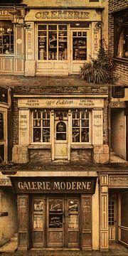 oude franse winkeltjes van Kok and Kok