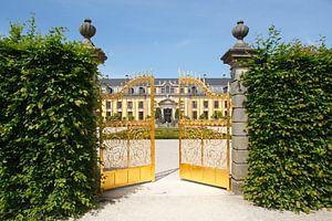 Großer Garten, Herrrenhausen, Goldenes Tor, Galeriegeb�ude, Hannover, Nedersaksen, Duitsland, europa
