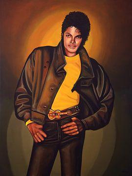 Michael Jackson schilderij van Paul Meijering